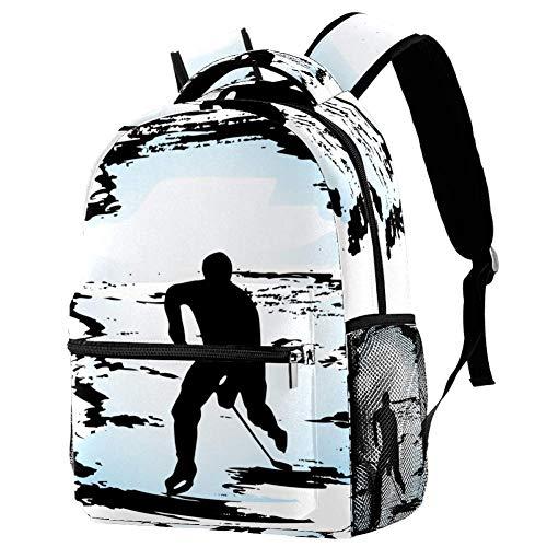 Rucksack Sport Hockey Daypack Freizeit Schulrucksack wasserdicht Schulranzen Für Mädchen Jungen & Kinder Damen Herren 29.4x20x40cm