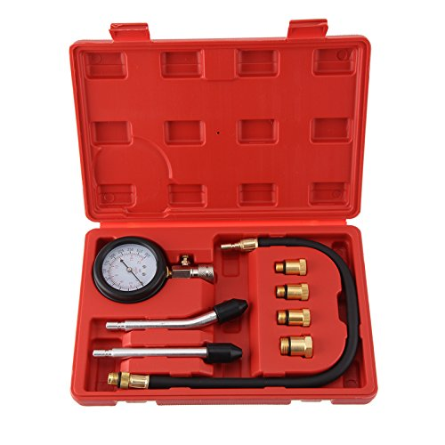 AllRight Kompressionstester KFZ Kompressionsprüfer 0-20 bar oder 0-300 psi inkl. Koffer