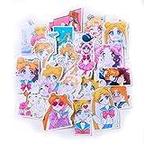 21-teiliges Set kreative süße selbstgemachte Sailor Moon 4 Scrapbooking-Aufkleber/dekorative...