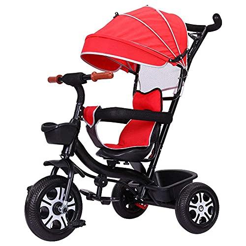 LINZI Trikes Triciclos para niños, Bicicletas para 1-3-6 años, Trolleys, Bicicletas para niños, Triciclos, Bicicletas