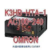 オムロン(OMRON) K3HB-HTA-1 AC100-240 温度パネルメータ (白金測温抵抗体/熱電対入力) NN