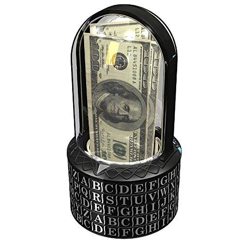 Puzzle Pod Cryptex - Brain Teaser & Coin Bank