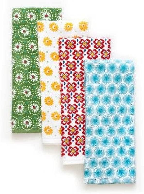 The Pioneer Woman Flea Market Kitchen Towel Set 4pk Print