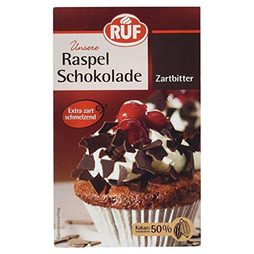 RUF Raspel Schokolade Zartbitter, 100 g