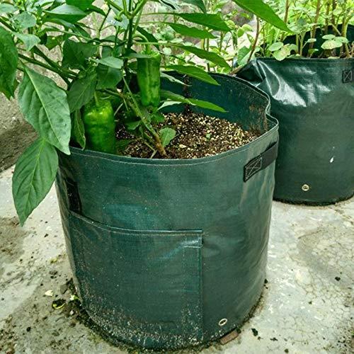Lowest Price! Yard Waste Bags Organic Waste Kitchen Picnic Organizer Garden Planting Bag Environment...