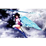 QINGQING Sailor Saturn Anime Puzzles Sailor Moon Holzpuzzle Dekompression Spielzeug-Geschenke (Size : 1500)