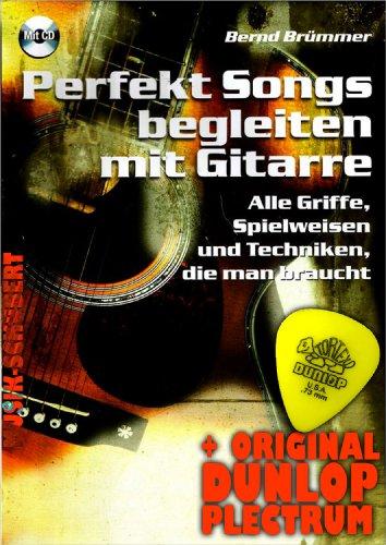 Perfecte songs begeleiden met gitaar (+CD) incl. plectrum - alle handgrepen, speelwijze en technieken die je nodig hebt (zakboek) van Bernd Brümmer (noten/sheetmusic).