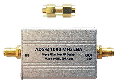 ADS-B LNA High Performance Triple Filter Low NF Amplifier by RTL-SDR Blog