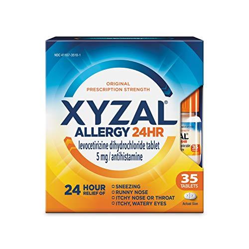 Xyzal Allergy Tablet, 35 Count