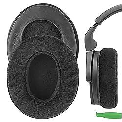 Geekria Coussinets en mousse à mémoire pour Sennheiser PC 350, HD 280PRO, HD580, Urbanite XL et autres Nouveau casque/oreillettes Coussin/Ear Covers/Ear/Coussinets réparation pièces en velours (Noir): Amazon.ca: Electronics