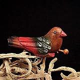 logozoe Silbato de Juguete de Llamada de pájaro, Silbato de pájaro de urraca, simulación de niños Que simulan el Canto de un pájaro para la decoración de la habitación