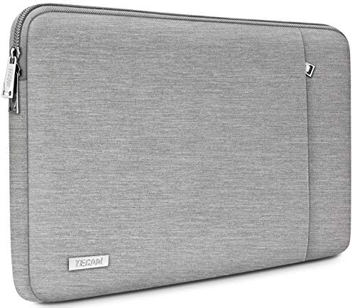 TECOOL 14 Zoll Laptoptasche Notebook Hülle Tasche Sleeve Hülle für HP Stream EliteBook 14, Lenovo IdeaPad ThinkPad 14, Acer Aspire Chromebook 14, Dell Inspiron 14, Grau