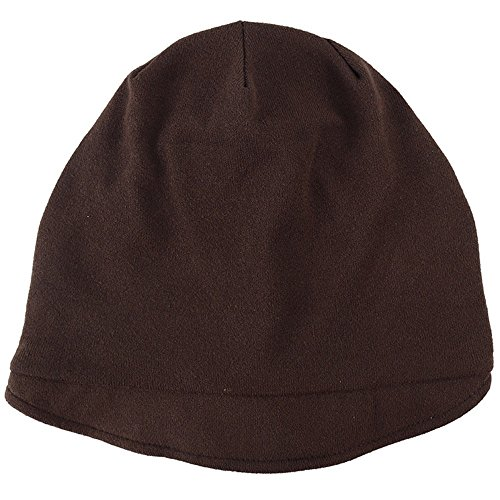 DOLDOA Hut Damen Sommer,Frauen Feste indische muslimische Stretch Turban Hut Camouflage Haarausfall Kopftuch Wrap (Kaffee)