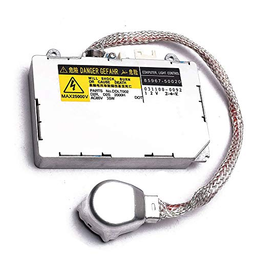KDLT002 DDLT002 85967-30050 Xenon Headlight Ballast Control Unit Module with Fast Startup Safe Stability for Lexus IS300 RX330 RX350 Mazda Lincoln Porsche Land Rover