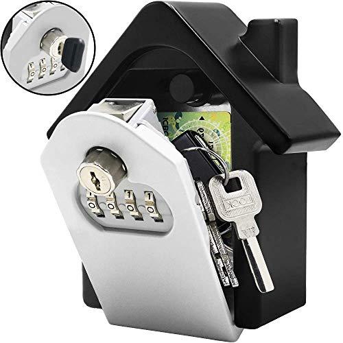 Joylora Sleutelsafe met cijfercode, voor buiten, auto, garage, home kantoor, sleutel en toegangskaart