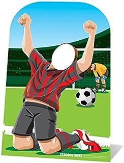Star Cutouts Ltd Pared Photo Stand fútbol en el tamaño del Espacio 117 cm