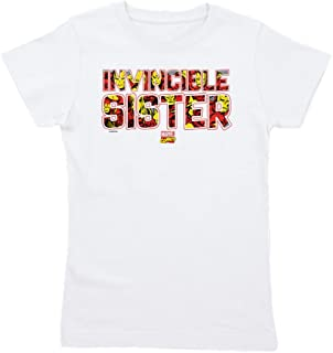 Iron Man Sister Slim Fit Tshirt