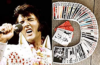 Elvis Playing Cards  Poker Deck 54 Cards All Different  Vintage Elvis Presley Photos Posters Magazine Covers Rock n roll King