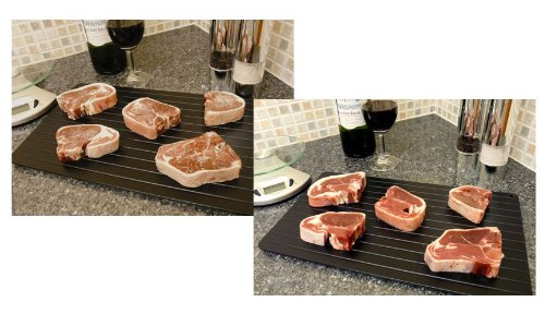 Good Ideas Miracle Thaw Defrost Tray (881) Easy Thaw tray defrost food quickly and safely by Good Ideas