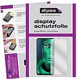 dipos I 2X Schutzfolie klar kompatibel mit ZTE Blade V10 Vita Folie Bildschirmschutzfolie (bewusst Kleiner als das Glas, da Dieses gewölbt ist)