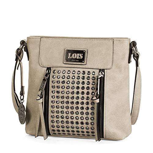 Lois - Bolso pequeño de Mujer Tipo Bandolera de Cuero PU. cómodo...