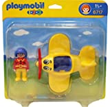 Playmobil - 6717 - Jeu de construction - Pilote / avion