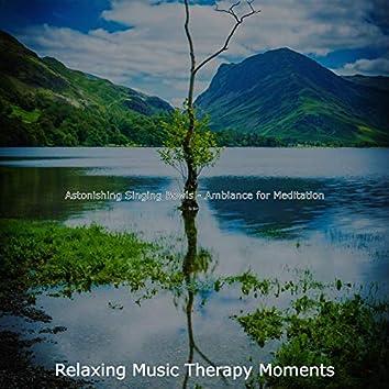 Astonishing Singing Bowls - Ambiance for Meditation