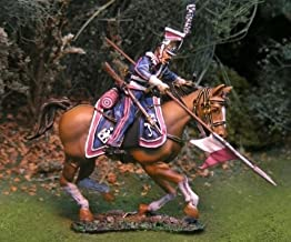 Napoleonic Toy Soldiers Polish Cavalry Lancer Attacking Collectors Showcase Toy Soldiers Painted Metal Figure CS00690 Britains King Country Type