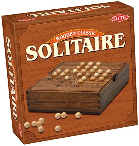 Classic Solitaire - Wood by Tactic Games UK