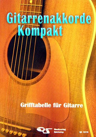 GITARRENAKKORDE KOMPAKT - arrangiert für Gitarre [Noten / Sheetmusic]
