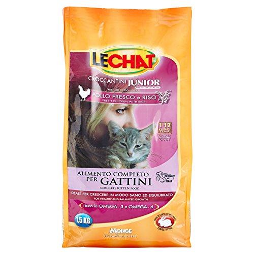 Monge–Crocchette Gattini lechat Kitten 1.5kg con...