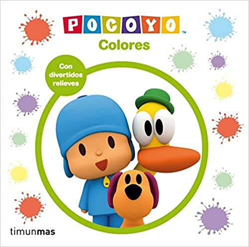 Pocoy. Colores: Con divertidos relieves (Pocoyo)