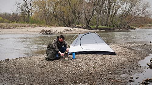 TrailLark Ultralight 1-Person 42oz (2.63lb) Backpacking Tent