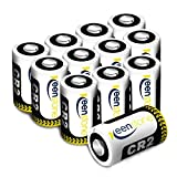 Piles CR2 Lithium, Keenstone 850mAh Batterie CR2 3V Lithium 12PCS, Compatible avec DLCR2 | CR15H270 | KCR2, SLR batterie avec PTC protégé pour Appareil Photo Numérique, Lampe torch, Caméscope etc.