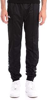 Kappa 222 Banda Rastoriazz Pants - Black/Black - LG