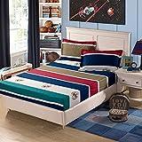 NHhuai Unterbett Soft-Matratzen-Topper, Matratzenschutz Boxspring-Betten geeignet Einteiliger Schutzbezug aus Baumwolle Matratzenbezug