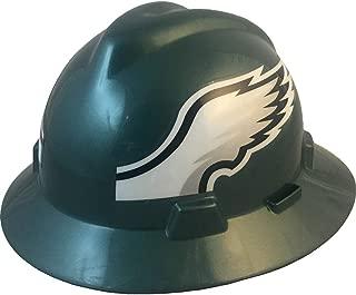 NFL V-Gard Full Brim Hard Hat, Philadelphia Eagles