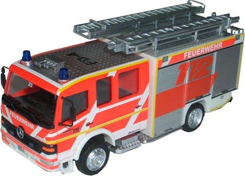 feuer1 Rietze Modell 60718 MB Atego HTLF 16 FF Fulda (Exklusivmodell)