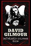 David Gilmour Distressed Coloring Book: Artistic Adult Coloring Book