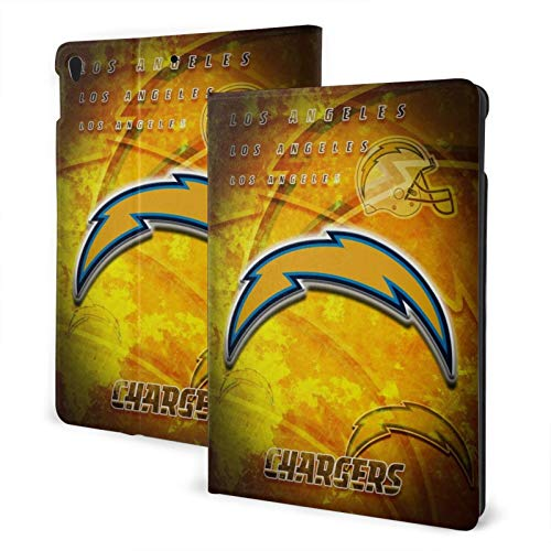 Los Angeles Football Charger Slim Lightweight Smart Shell Stand Hard Back Protective Cover Case with Auto Wake/Sleep for Ipad One Size