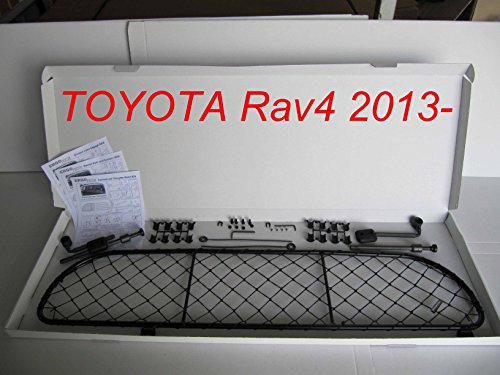 ERGOTECH Trennnetz Trenngitter Hundenetz Hundegitter für Toyota Rav4 ab BJ 2013