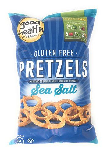 Good Health Gluten Free Sea Salt Pretzels, 8 Ounce Bags (Set of 2)