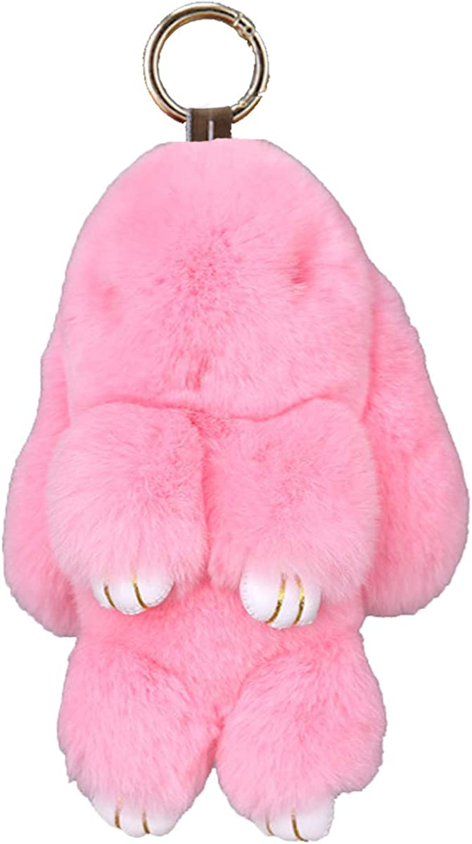 Prince2018 Fur Keychain Soft Cute C Special Campaign Austin Mall Real Rabbit Rex