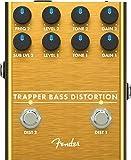 Fender Trapper Bass Distortion Effects Pedal for Bass Guitar