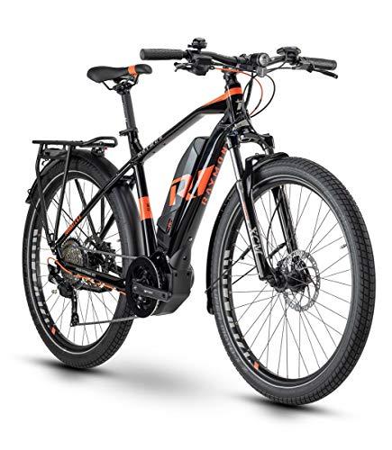 RAYMON Tourray E 6.0 Pedelec E-Bike Trekking Fahrrad schwarz/rot 2020: Größe: 48 cm