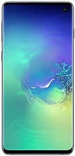 "Samsung Galaxy S10 128GB, 8GB Ram Dual Sim, 4G LTE, 6.1"" Infinity-O Display, Factory Unlocked Smartphone (Prism Green)"