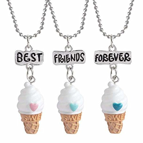MJartoria Best Friends Forever BFF Necklaces...