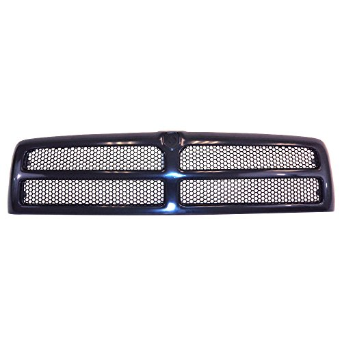 Perfit Liner New Front Black Grille Grill Replacement For 94-01 Dodge Ram Pickup Truck 1500 2500 3500 Fits CH1200188 5EZ51RX8