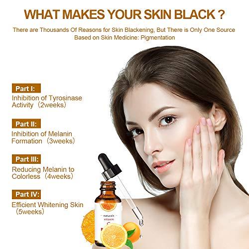 51qBikxxs9L - Vitamin C Serum for Face with Hyaluronic Acid, Vitamin E & Niacinamide (B3) Face Serum for Anti Wrinkle, Anti Aging, Hydrate & Dark Spot Vitamin C Oil Facial Serum