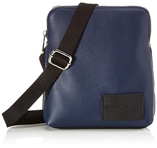 Calvin Klein heren Ckj Pebble Micro Flat Pack schoudertas, 1x1x1 cm